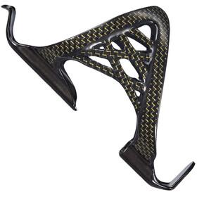 Supacaz Spider Cage - Porte-bidon - Carbon noir/Or